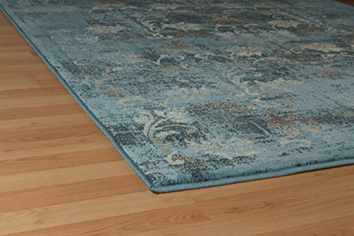 Premium Soft 8x11 Modern Rugs For Dining Room Blue Rugs