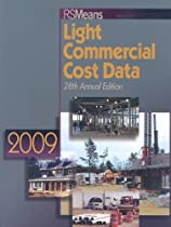 RS Means Light Commercial Cost Data 2009