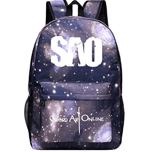 GO2COSY Anime Backpack Daypack Student Bag School Bag Bookbag for Sword Art Online Cosplay