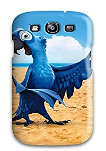 4325843K37131867 New Arrival Cover Case With Nice Design For Galaxy S3- Blu In Rio