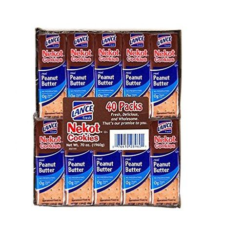 Lance Nekot Peanut Butter Cookies  40 ct