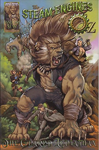 Arcana Studios Presents: Steam Engines of Oz: The Geared Leviathan #2 VF/NM ; Arcana comic book