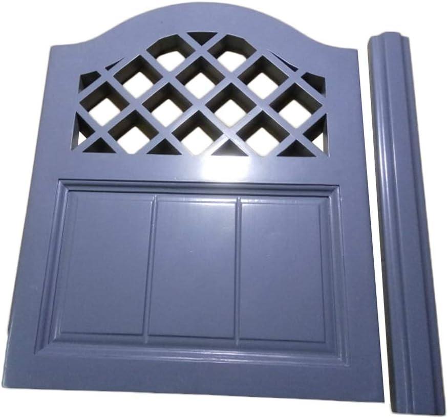 LIANGLIANG Puertas Batientes Bisagra Cafe Madera Maciza Puerta De Media Cintura Interior Decoración Cocina Cortar, Multi-tamaño Personalizable (Color : A, Size : 75x90cm)