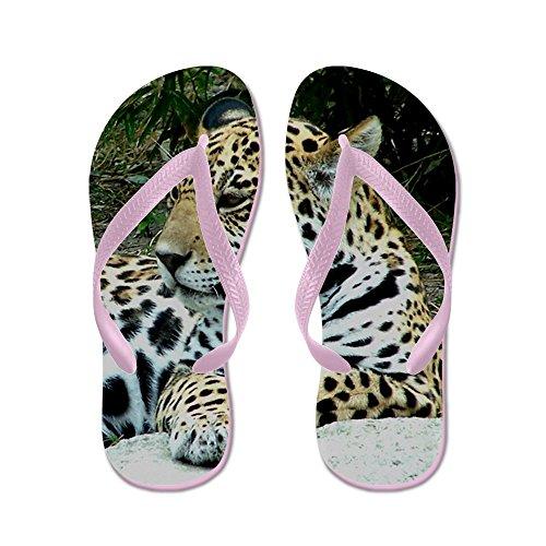 Cafepress Jaguar Portrait - Infradito, Divertenti Sandali Infradito,  Sandali Da Spiaggia Rosa. scarpe ...