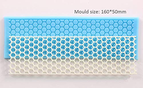 Luyou Luyou 1PCS Silicone 3D Mold Cookware Dining Bar Non-Stick Cake Decorating Fondant Soap Mold DIY Sugar Lace mold FM878 ()