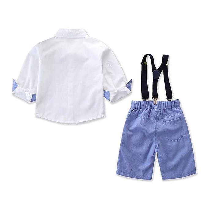 Baiomawzh Counjunto de Ropa Bebé Niño Verano 2PC Camisas ...