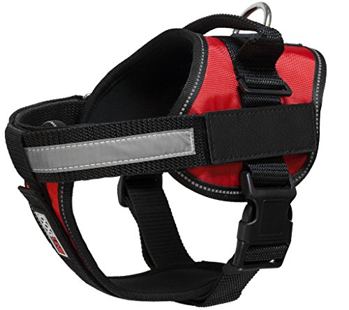 Dogline Unimax Multi-Purpose Vest Harness for Dogs and 2 Removable DIY Customizable BLANK Patches from Dogline