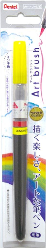 Pentel Art Brush lemon yellow