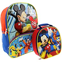 Mickey Mouse 16 inch Backpack and Lunch Box Set