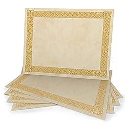 Gold Foil Certificate