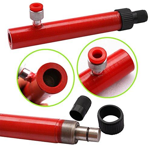 F2C 4 Ton Capacity Porta Power Hydraulic Bottle Jack ram Pump Auto Body Frame Repair Tool Kit Power Set Auto Tool for Automotive, Truck, Farm and Heavy Equipment/Construction (4Ton Set) by F2C (Image #4)