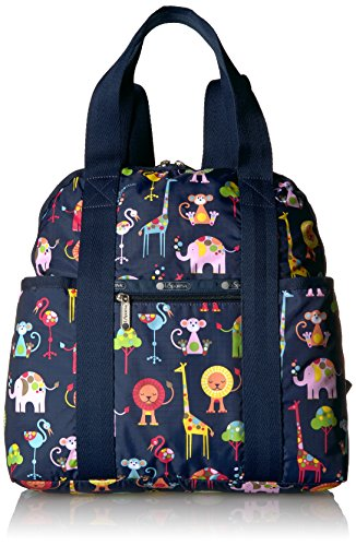 LeSportsac Women's Baby Double Trouble Backpack, Zoo Cute Classic