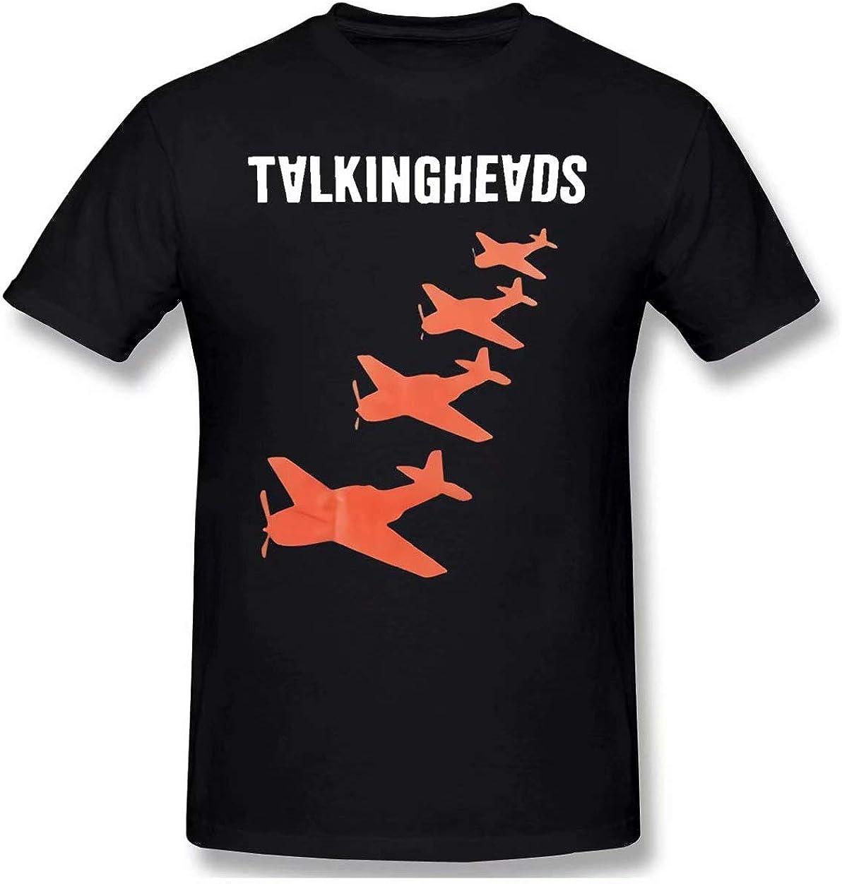 Talking Heads Planes M L XL Navy T-Shirt
