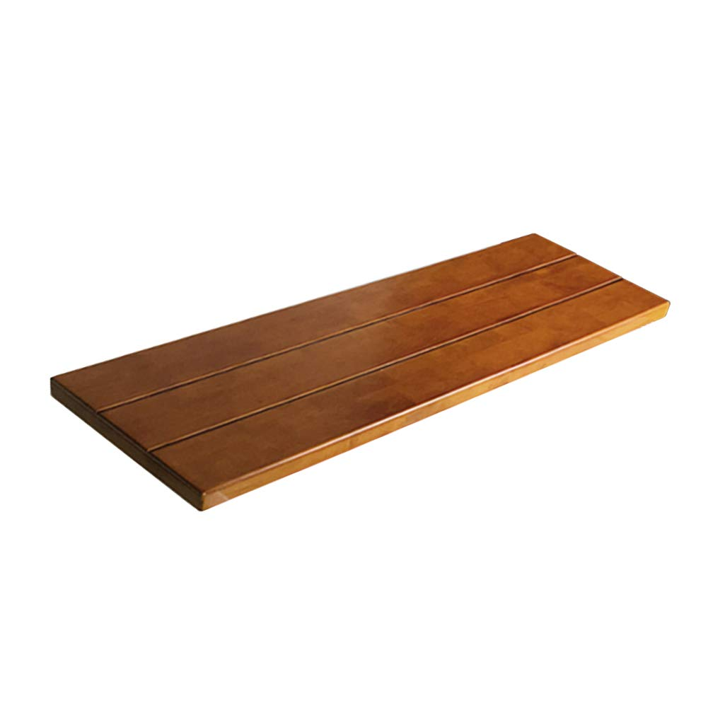 Wood Bathtub Caddy Tray,Natural,ecofriendly Wood Integrated Tablet Phone Wine Book Holders-a 30x85cm(12x33inch) by PhilWeen (Image #1)