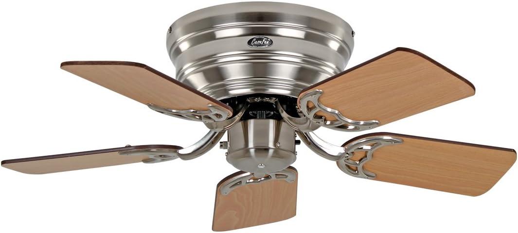 Ventilador de techo, Flat 75-iii BN Ala Nogal/haya: Amazon.es: Hogar