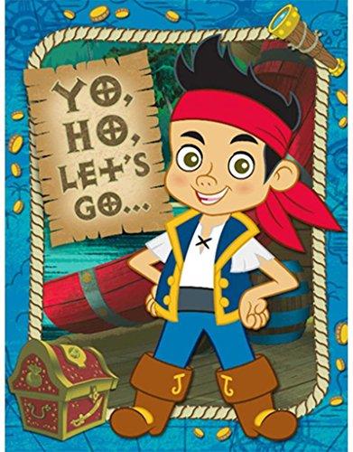 Hallmark Disney Jake and the Never Land Pirates Invitations -