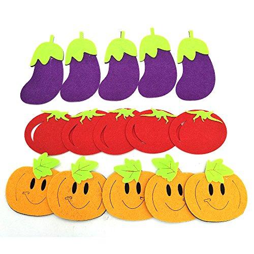 Dimensional Stickers Fruit (kindergarten children wall decoration 3D three-dimensional cartoon fruit three-dimensional wall stickerss Vegetable stereo painting)