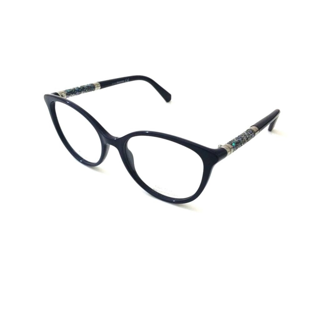4c4467eb5975 Eyeglasses Swarovski SK 5258 081 shiny violet  Amazon.co.uk  Clothing