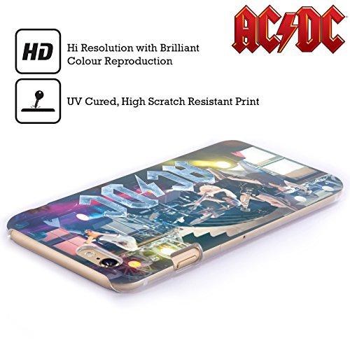 Officiel AC/DC ACDC Performance De Concert Photo De Groupe Étui Coque D'Arrière Rigide Pour Apple iPhone 4 / 4S