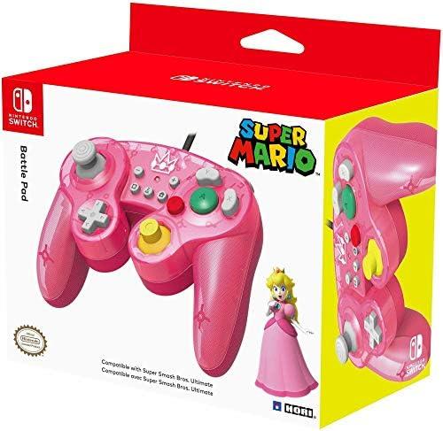 HORI - Battle Pad Peach (Nintendo Switch): Amazon.es: Videojuegos