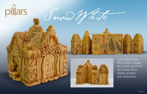 Figurine Set Chest (Pillars 4031010 Snow White 9-Piece Pillar Set)