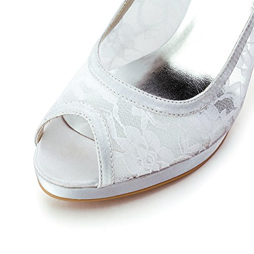Heel 10cm Femme Minitoo 38 Escarpins Pour Beige Ivory xwqgHUzY