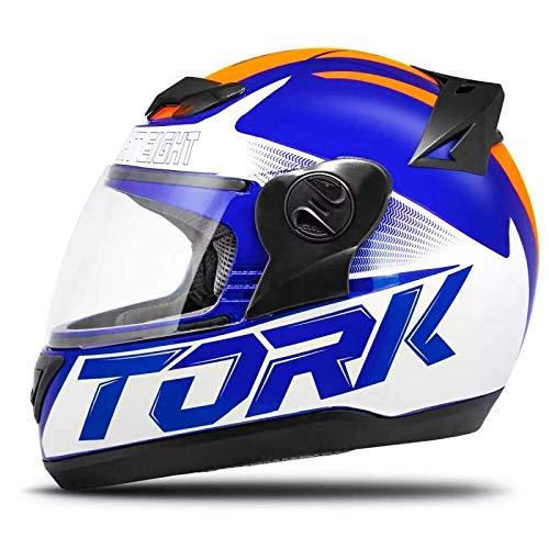 Pro Tork Capacete Evolution G7 56 multicor (Azul/Laranja/Preto)