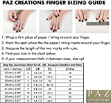 PZ Paz Creations 925 Sterling Silver Multi-Gemstone