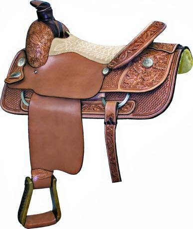 Billy Cook Classic Half Breed Saddle16 Inch Seat