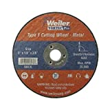 Weiler 56281 4-1/2'' x 0.045'' Wolverine Type 1 Thin Cutting Wheel, A60T, 7/8 A.H. (Pack of 50)