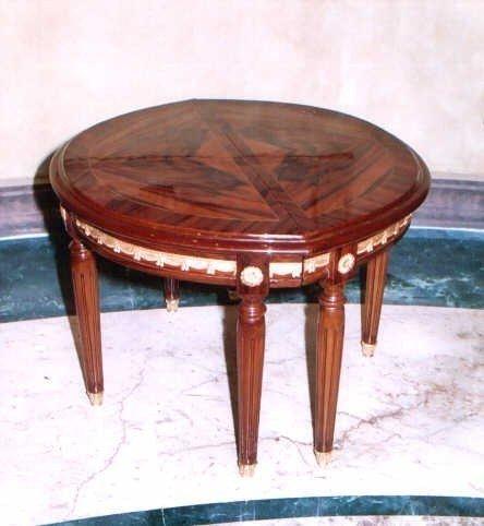 Barock Tisch Antik Stil Beistelltisch LouisXV MoTa0960