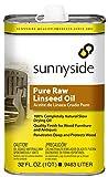 Sunnyside 87332 Pure Raw Linseed Oil, Quart
