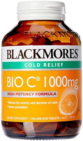 Blackmores Bio C 1000mg 150 Tablets Vitamin C