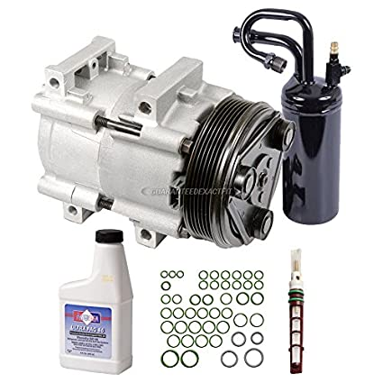Amazon.com: AC Compressor w/A/C Repair Kit For Ford Ranger and Mazda on 2001 ford ranger fuel pressure regulator, 2001 lincoln ls wiring harness, universal ford wiring harness, 2006 ford mustang wiring harness, 2001 ford ranger dash panel, 2003 ford windstar wiring harness, 2001 jeep grand cherokee wiring harness, 2005 ford freestar wiring harness, 2001 ford ranger carburetor, 2001 mitsubishi eclipse wiring harness, 2001 ford ranger spark plug wires, 2001 ford ranger coil, 2004 ford freestar wiring harness, 2001 ford ranger fuel rail, 1999 ford mustang wiring harness, 2001 ford ranger hood, 2001 ford ranger timing cover, 2004 ford mustang wiring harness, 2002 ford explorer wiring harness, 2001 ford ranger sensors,