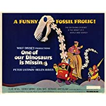One of Our Dinosaurs Is Missing POSTER Movie (11 x 14 Inches - 28cm x 36cm) (1975)