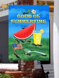 0046FL - Good Ol' Summertime Large Flag