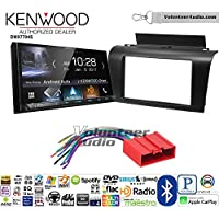 Volunteer Audio Kenwood DMX7704S Double Din Radio Install Kit with Apple CarPlay Android Auto Bluetooth Fits 2004-2009 Mazda 3