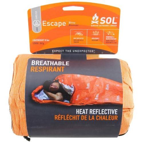 51dbJn5aD L. SS500  - Adventure Medical Kits Sol Escape Bivvy - Orange