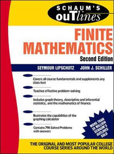 Schaum's Outline of Finite Mathematics
