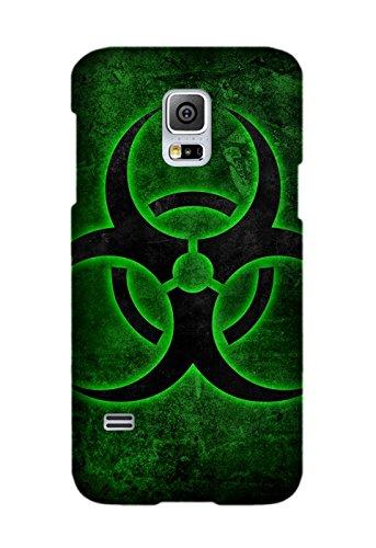 Custom Sci Fi Biohazard Phone Case Laser Technology For Samsung Galaxy S5