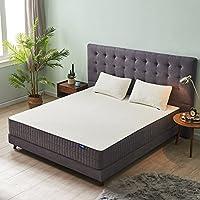 Sweetnight 10 Inch Gel Memory Foam Mattress, CertiPUR-US Certified, Queen Size