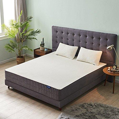 3 Position Memory Foam Pillow (Sweetnight 10 Inch Gel Memory Foam Mattress, CertiPUR-US Certified,King Size)