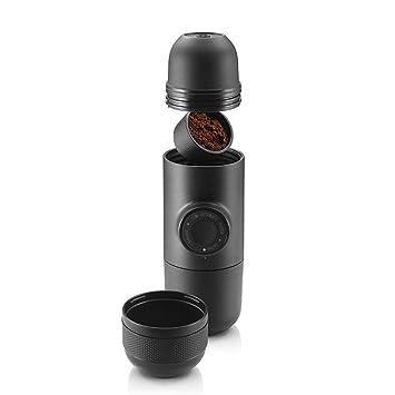 CL& Máquina de café - máquina de café portátil Exterior, máquina Manual para Hacer Espresso
