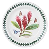 Portmeirion Exotic Botanic Garden Salad Plate with Red Ginger Motif