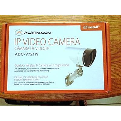 Image of Bullet Cameras Alarm.com V721w Outdoor Wireless IP Ir Nightvision Bullet Camera