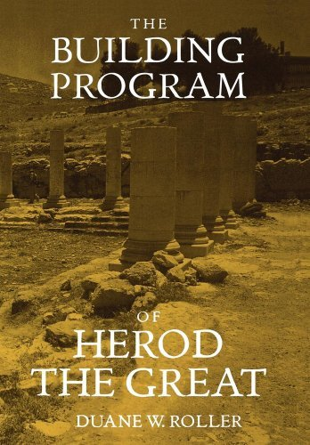 Download The Building Program of Herod the Great Pdf
