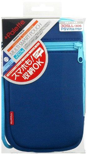 GAMETECH Colorful Multi-device storage Soft Pouch -Sapphire Blue-