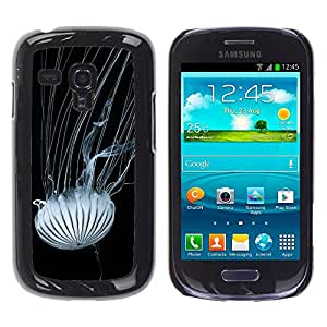 Hot Style Cell Phone PC Hard Case Cover // M00114803 Jellyfish Tentacles Nettles Nature // Samsung Galaxy S3 MINI i8190