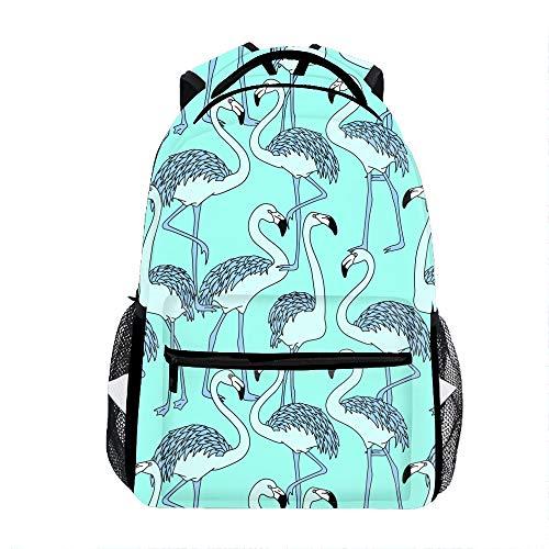 Flemish Picture Drawing Backpack Boy Girls Shoulder School Bags