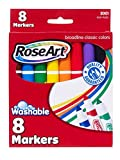 : RoseArt Classic Washable Broadline Markers 8-Count Packaging May Vary (DDT57)